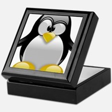 Tux the Penguin Keepsake Box