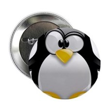 "Tux the Penguin 2.25"" Button"