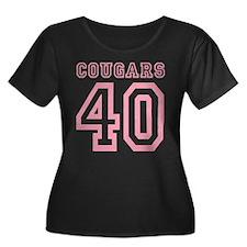 cougars40 Plus Size T-Shirt