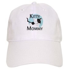 Kitty Mommy Cute Cat Baseball Cap