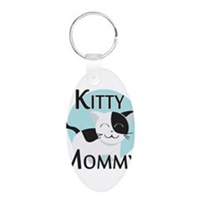 Kitty Mommy Cute Cat Keychains