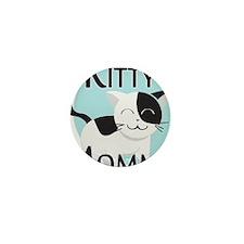 Kitty Mommy Cute Cat Mini Button
