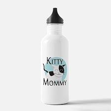 Kitty Mommy Cute Cat Water Bottle
