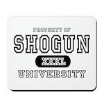 Shogun University Property Mousepad