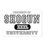 Shogun University Property Postcards (Package of 8