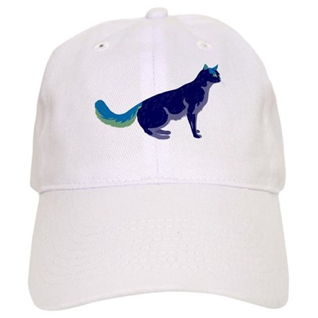 Multi-Color Rainbow Cat Cap