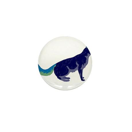 Multi-Color Rainbow Cat Mini Button