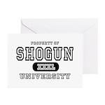 Shogun University Property Greeting Cards (Package