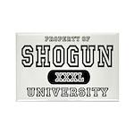 Shogun University Property Rectangle Magnet (10 pa