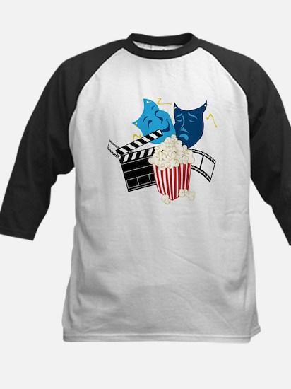 Movie Lover Kids Baseball Jersey