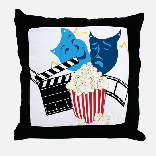 Movie Lover Throw Pillow
