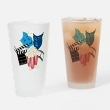 Movie Lover Drinking Glass