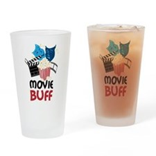Movie Buff Drinking Glass