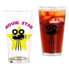 Movie Star Drinking Glass