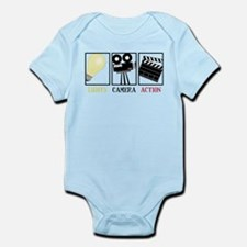 Lights Camera Action Infant Bodysuit