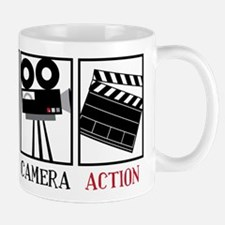 Lights Camera Action Mug