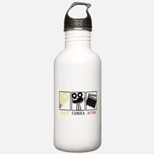 Lights Camera Action Water Bottle