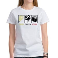 Lights Camera Action Tee