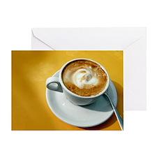 Cappuccino - Greeting Card