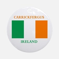 Carrickfergus Ireland Ornament (Round)