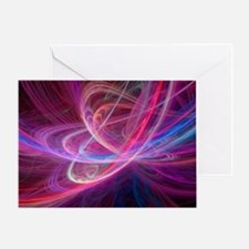 Chaos waves, artwork - Greeting Card