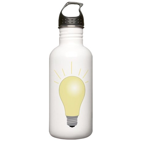 Light Bulb Stainless Water Bottle 1.0L