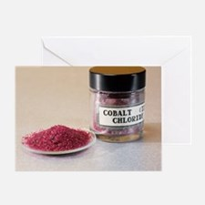 Cobalt chloride - Greeting Card