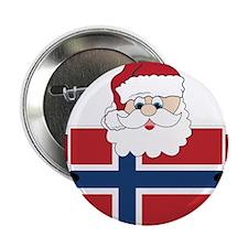 "Santa In Norway 2.25"" Button"