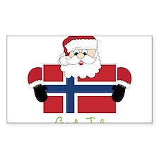 God Jul Decal