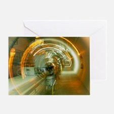 LEP collider tunnel - Greeting Card