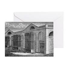 La Villette Gas Power Station, artwork - Greeting