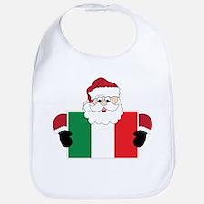 Santa In Italy Bib