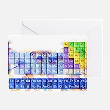 Periodic table - Greeting Card