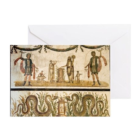 Pig Sacrifice Roman Fresco