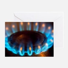 Propane burner - Greeting Card