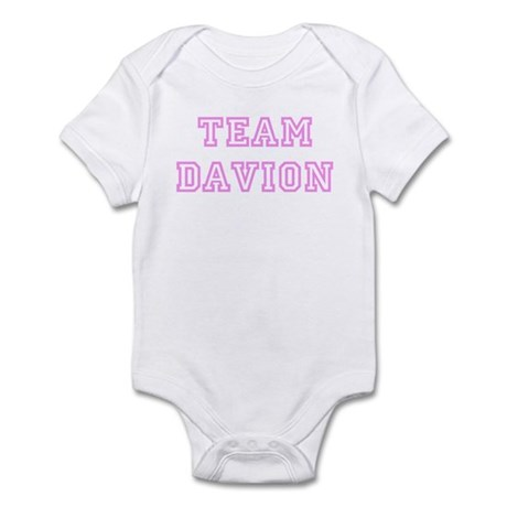 Pink team Davion Infant Bodysuit