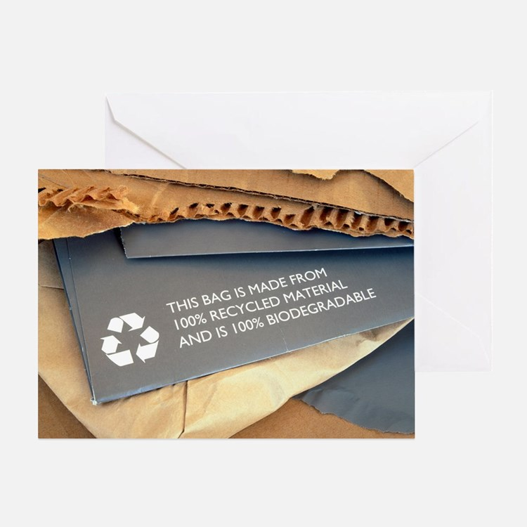 Recycled materials - Greeting Card
