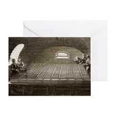 Royal Institution Battery 1807 - Greeting Card
