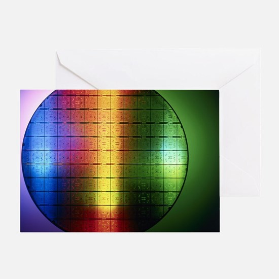 Semiconductor wafer - Greeting Card