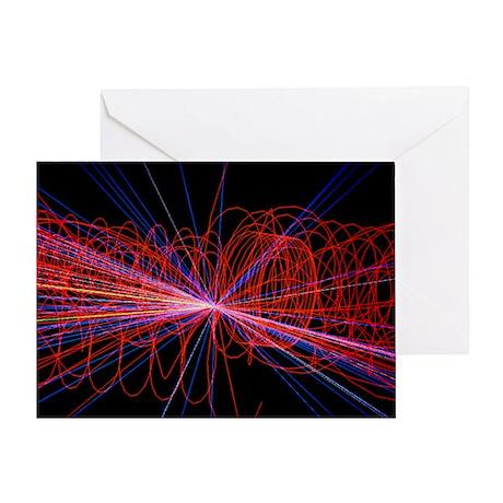 Simulation of Higgs boson production - Greeting Ca
