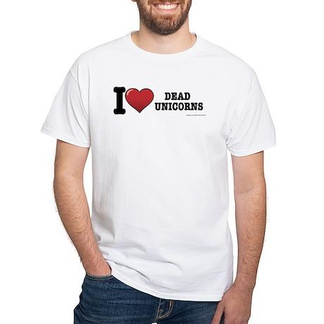 Dead Unicorns White T-Shirt