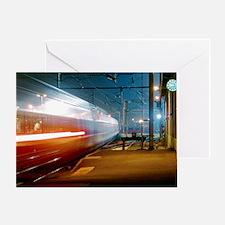 TGV train - Greeting Card