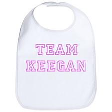Pink team Keegan Bib