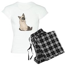 Siamese Cat 2 Pajamas