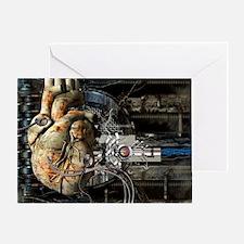 Artificial heart, conceptual artwork - Greeting Ca