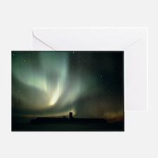 Aurora australis - the Southern Lights - Greeting