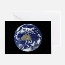 Australia, satellite image - Greeting Card