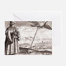 Avicenna, Persian philosopher - Greeting Card