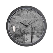 Snowbird Wall Clock