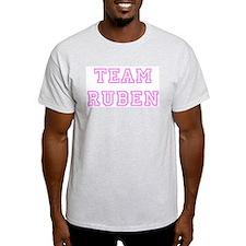 Pink team Ruben Ash Grey T-Shirt